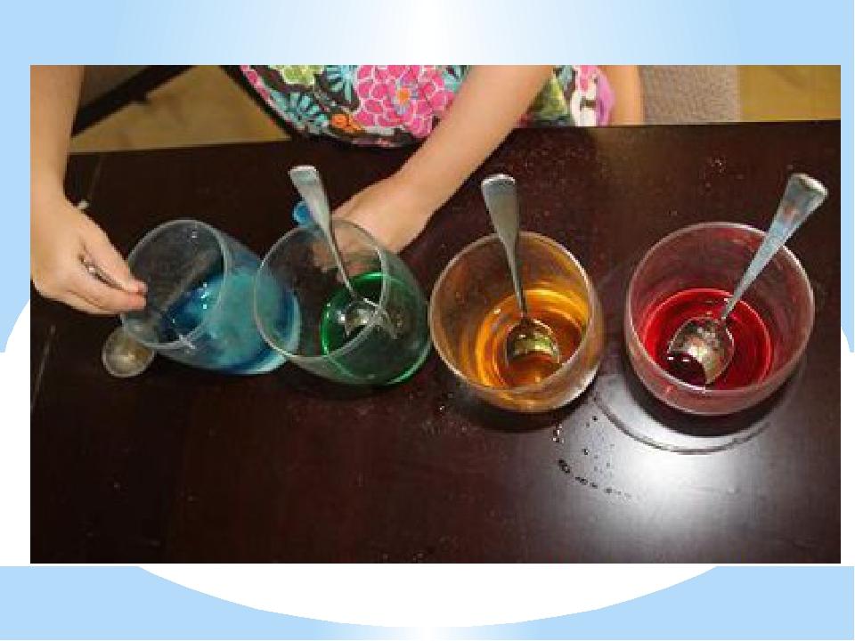 Опыты в домашних условиях для детей с водой