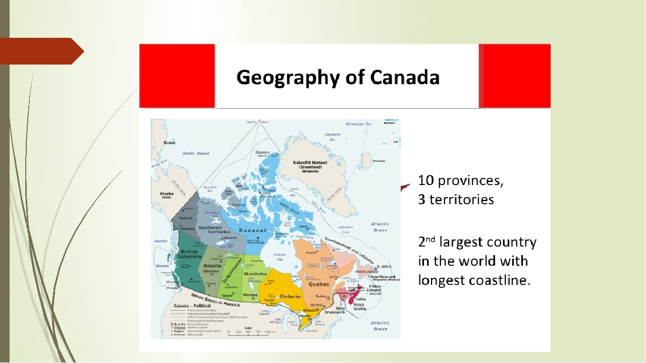a geographical overview of canada Canadian council for geographic education february 2007 regions of canada lesson overview canada has six main natural regions that can be identified by their.
