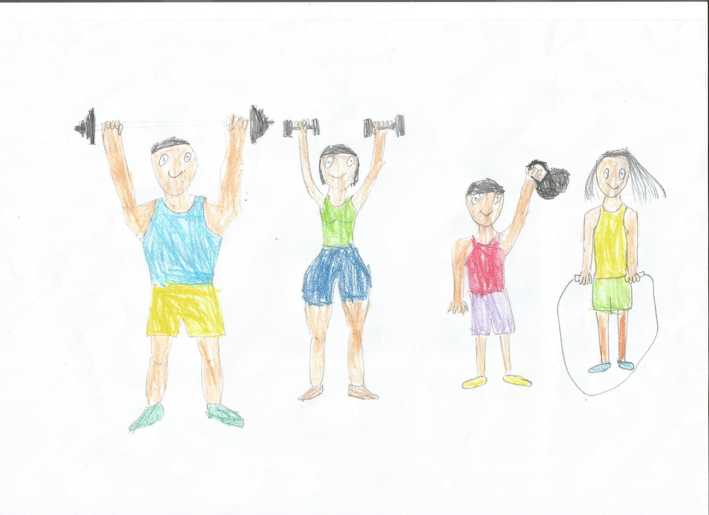 Картинки к соревнованиям мама папа я спортивная семья