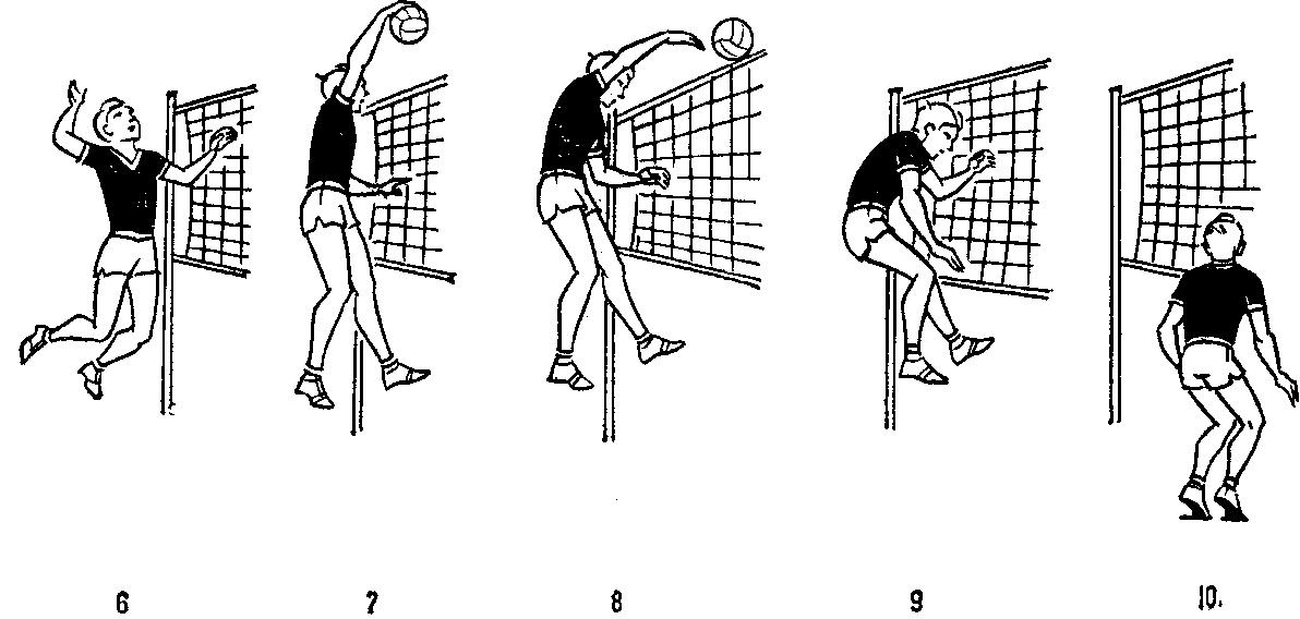 держалась руки, техника волейбола в картинках этого