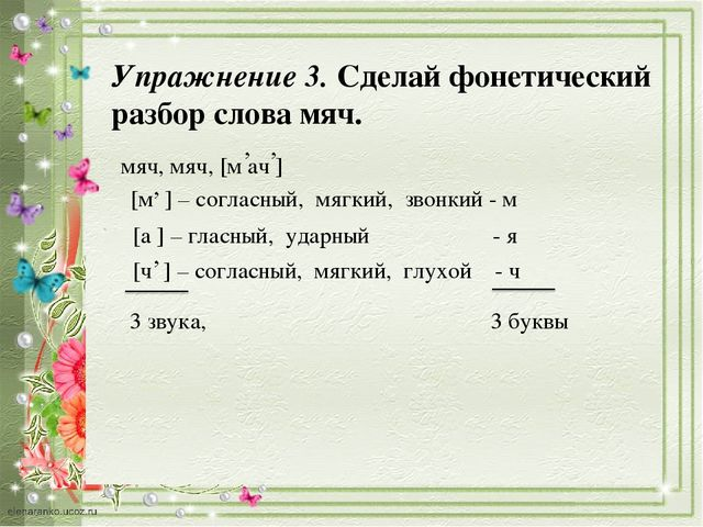 Повторяем фонетику и состав слова 3 класс школа 21 века