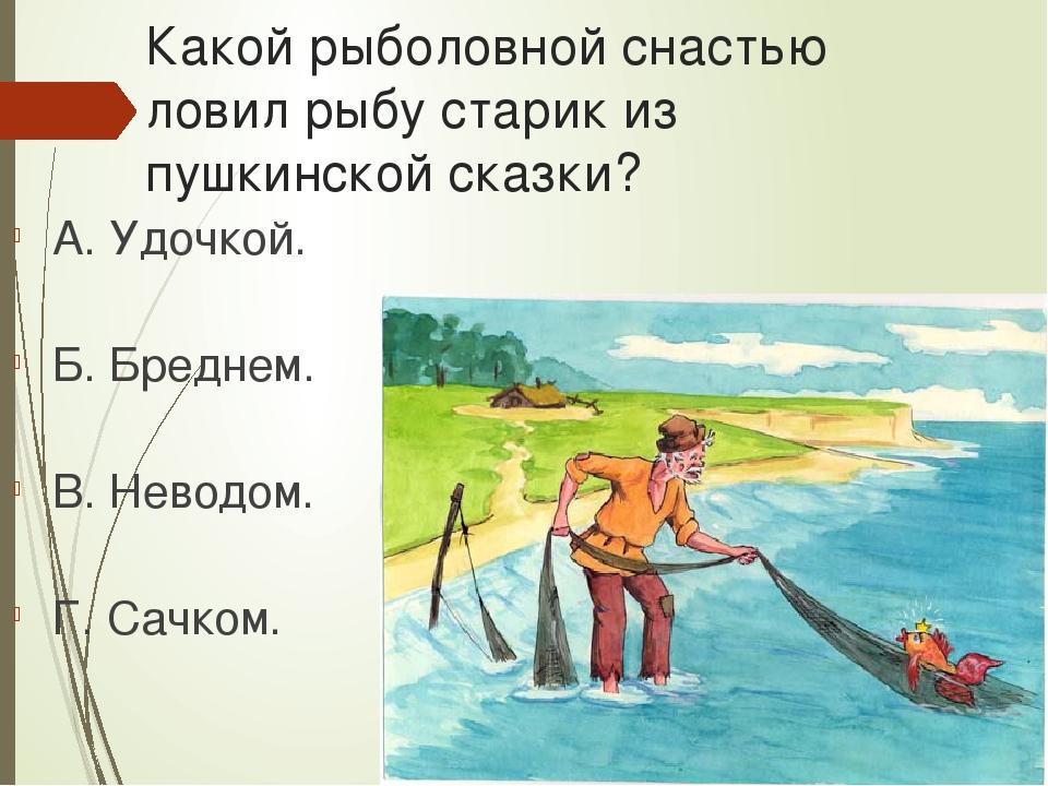 в каких сказках ловят рыбу