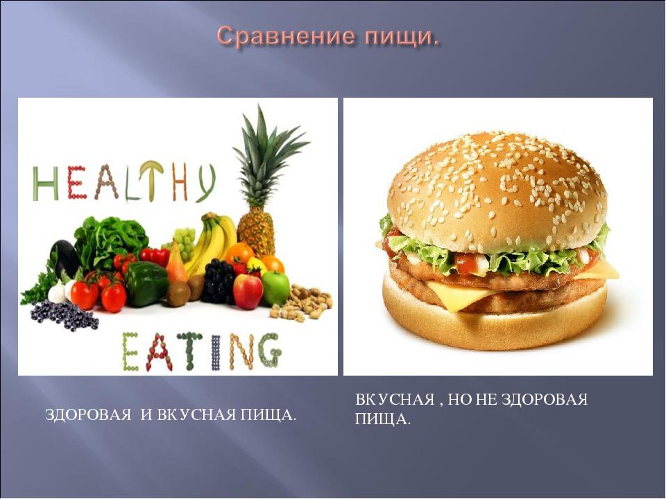 Вкусная и здоровая пища рецепты