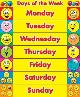 week day names and n o course Who decided on the name of the days and of course, most of the english planet names are was the first in recorded history to institute a seven-day week.