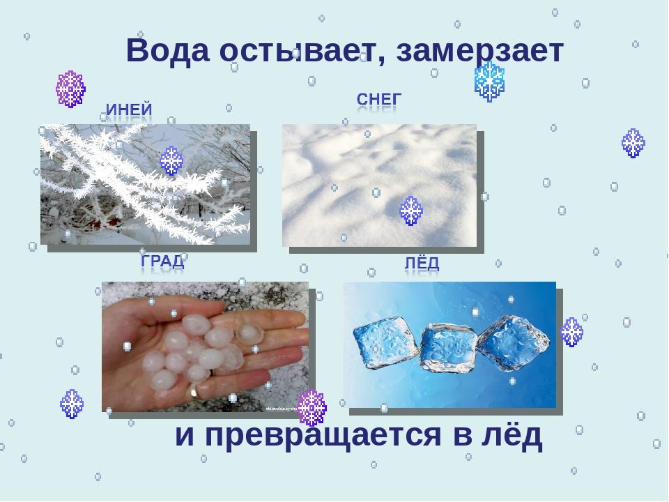 картинки как вода превращается в лед советам инструкции, чтобы