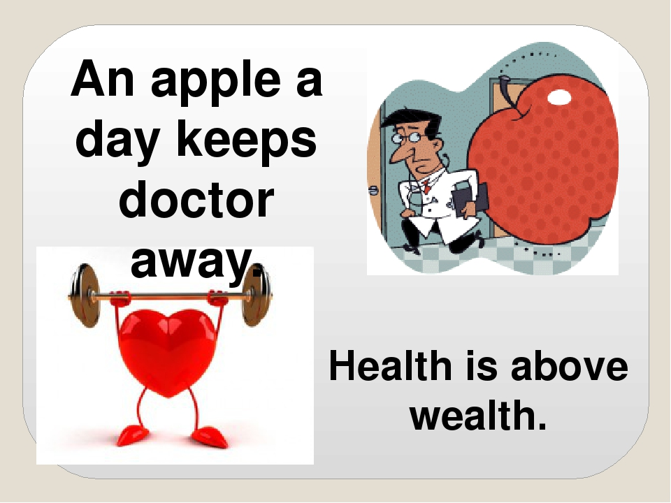 "an apple a day keeps the doctor away You've probably heard many people say that an apple a day keeps the doctor away but is it true do apples ward off doctors the way garlic wards off vampires ""an apple a day keeps the doctor away is an old english proverb that basically means that eating nutritious food will make you healthier."