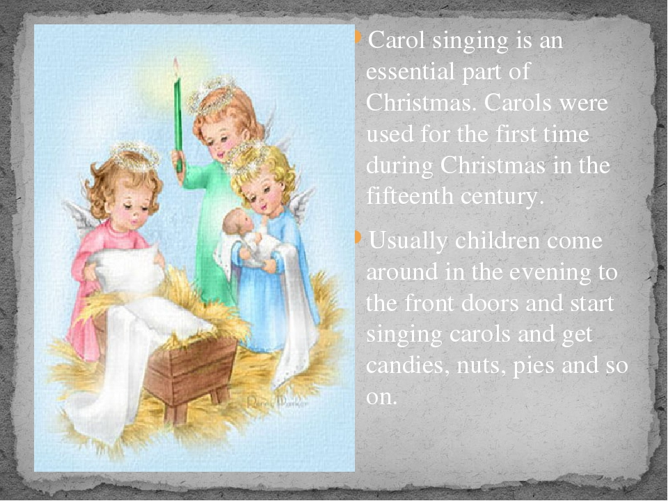 Carol singing is an essential part of Christmas. Carols were used for the fi...