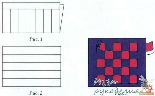 Как сделать коврик из бумаги по технологии 2 класс