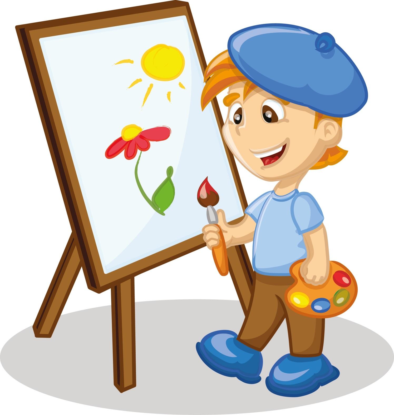 art class clip art - 760×800