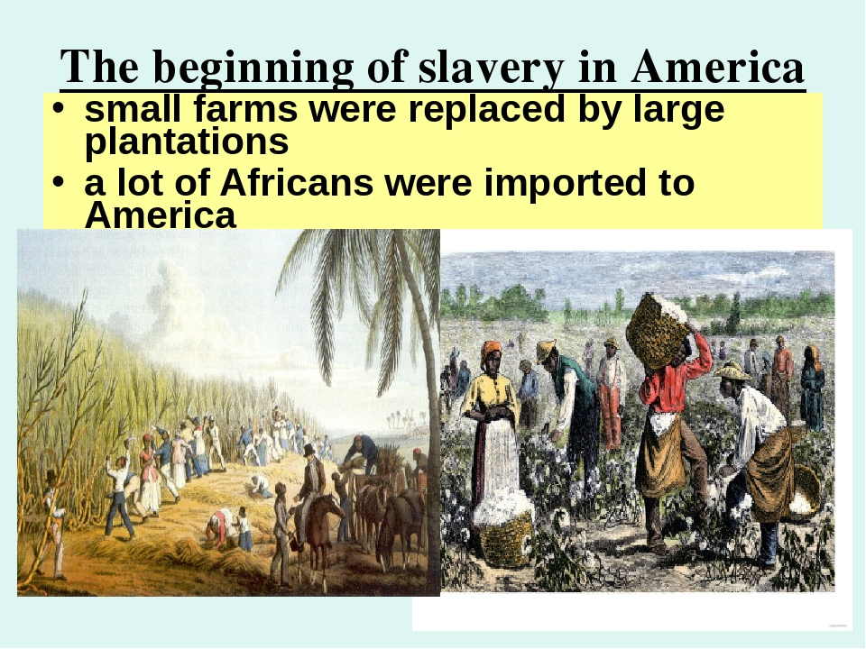 why slavery was important for america This article was originally published on the conversation read the original article people think they know everything about slavery in the united states, but they don't they think the majority of african slaves came to the american colonies, but they didn't.