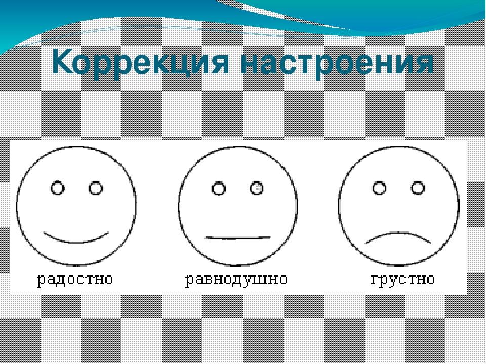 Коррекция настроения