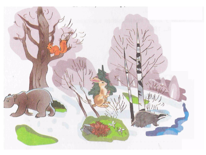 Картинки весна в лесу детям