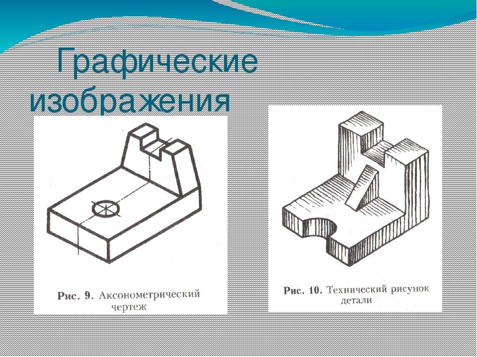 Технический рисунок порядок выполнения