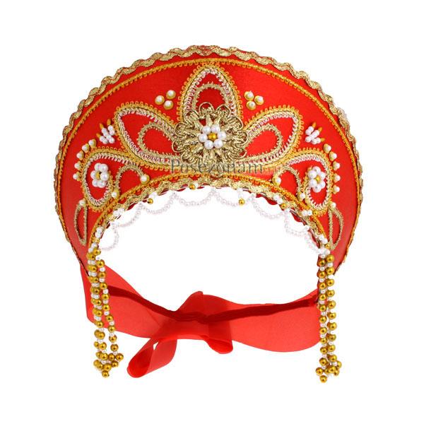 Как сделать кокошник на русский народный костюм