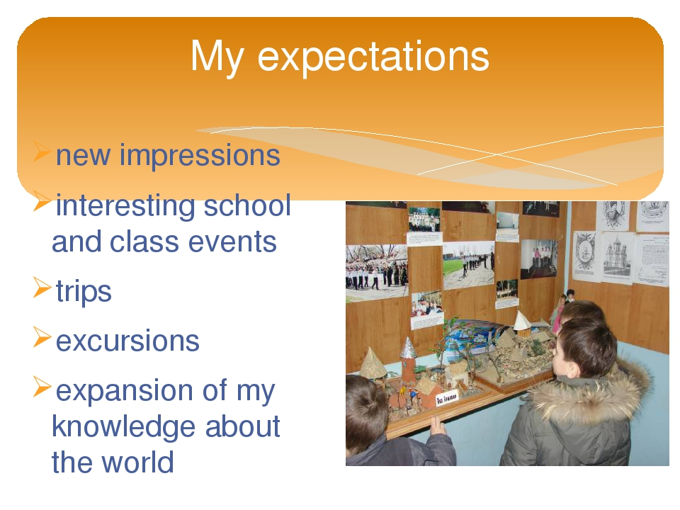 my expectations for this class Rather than set out my class rules/expectations, our first lessons were focused on students developing/setting the expectations, giving them some our first activity was to work in small groups and discuss what they thought were reasonable expectations for each of them in this class.