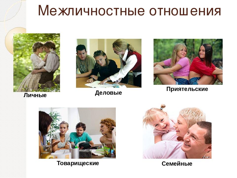 межличностные взаимоотношения картинки таблице