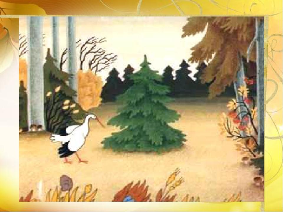 Сказка елка андерсена с картинками