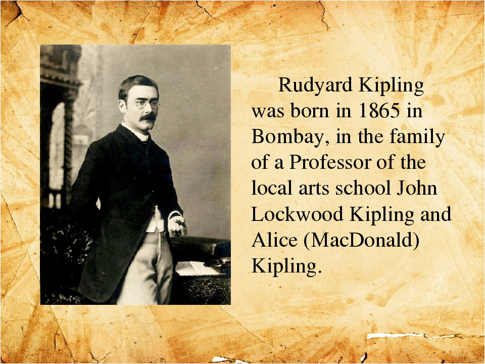 a study of rudyard kipling on maturity  if by rudyard kipling - analysis this poem appealed to me for the growth and maturity found in it, and how this could apply to an athlete.