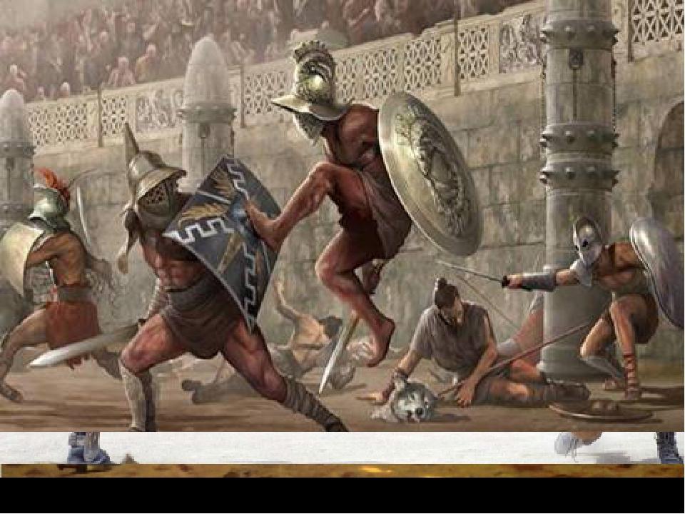 Восстание спартака в картинках