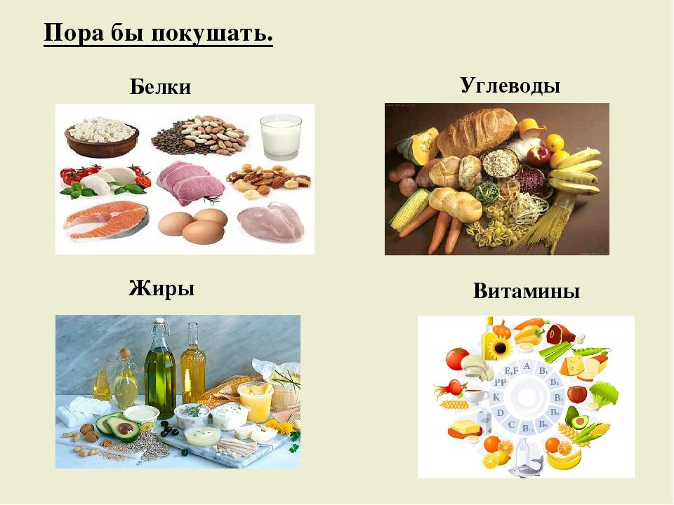 Картинки белков жиров и углеводов