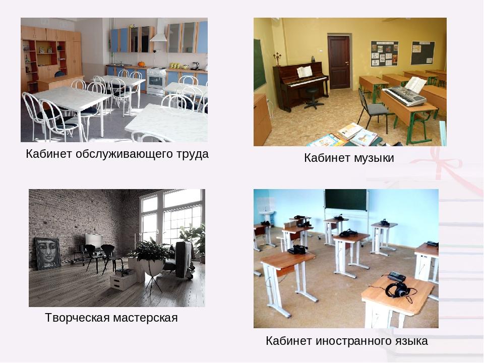 кабинет обслуживающего труда в картинках с пояснениями некоторые