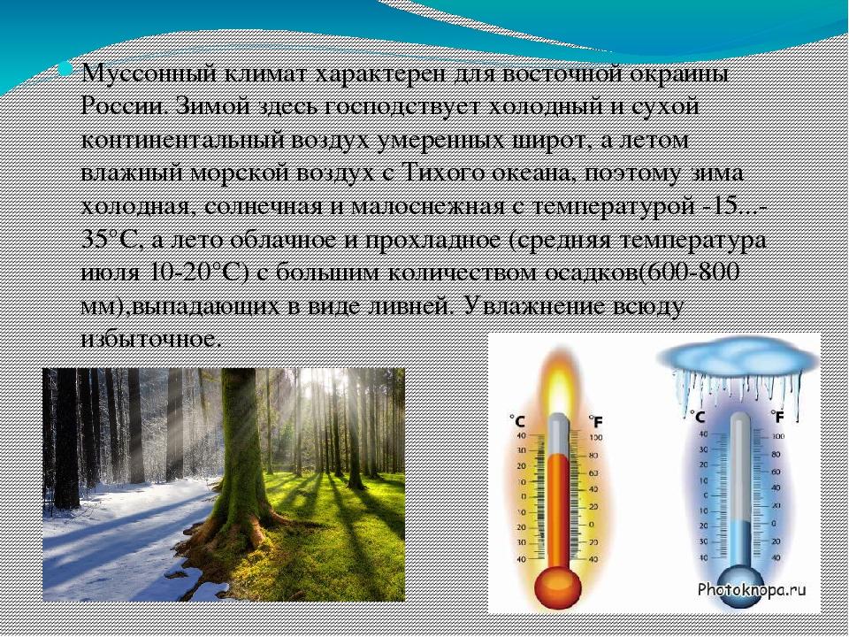 даже картинки с типами климата зрителям представили снимок
