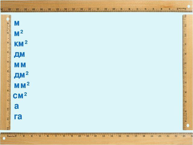 Презентация математика 4 класс единицы площади