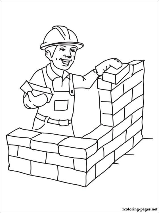 Открытку, профессии в картинках строитель