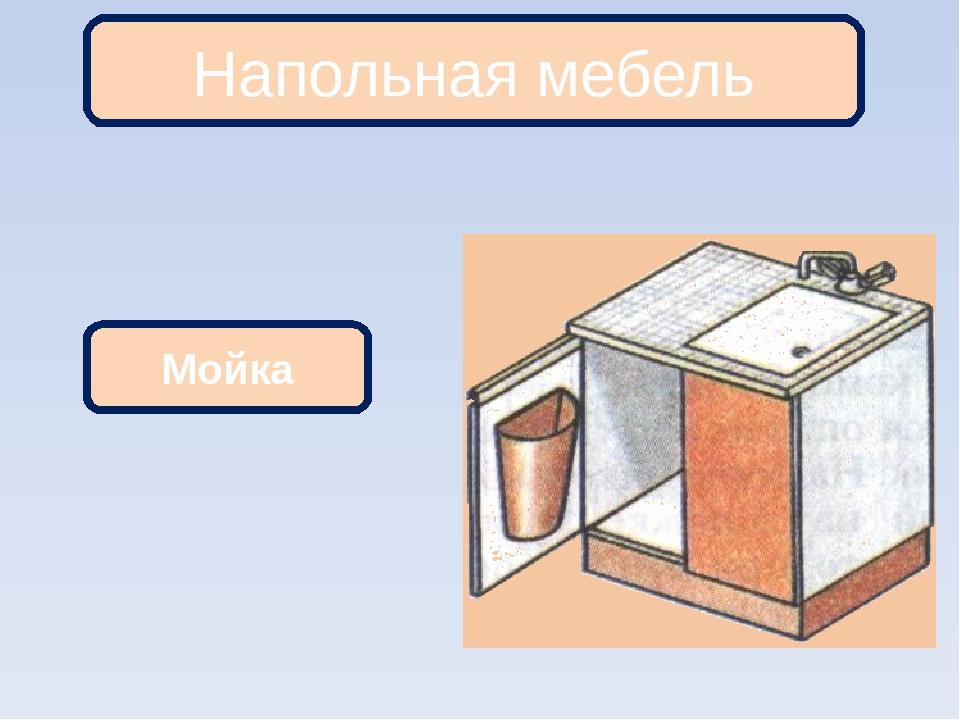 Напольная мебель Мойка