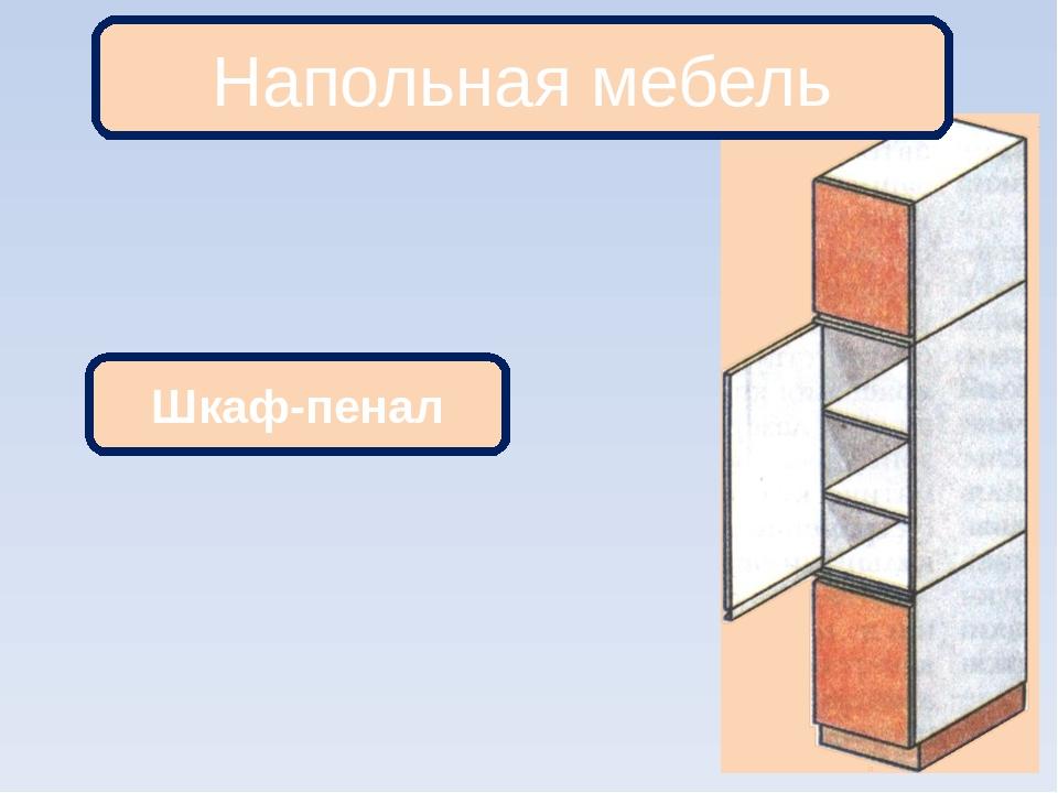 Шкаф-пенал Напольная мебель