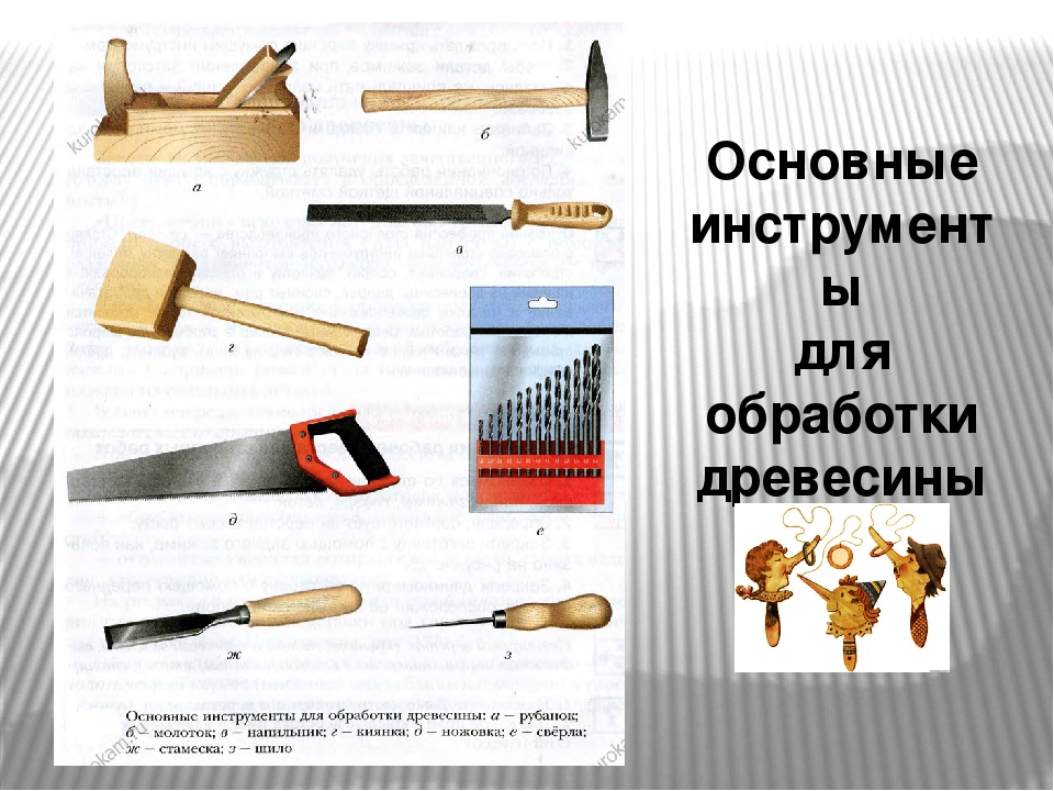 Реферат инструменты для обработки древесины 1246