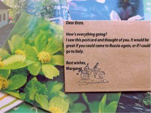 Что может быть прекрасней маленькой карточки, написанной собственноручно? Уни
