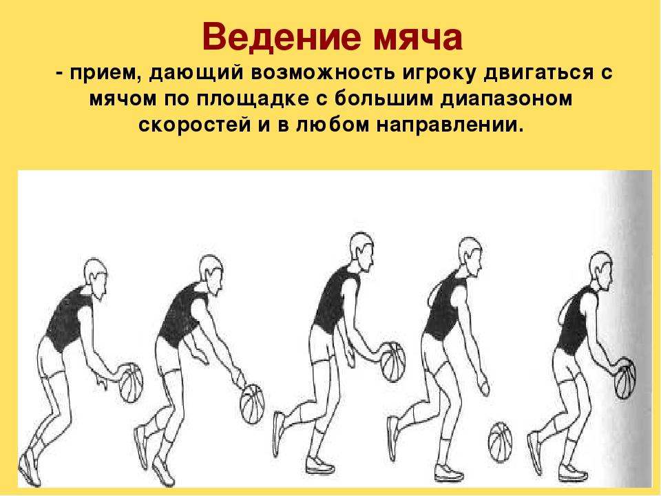 техника ведения мяча в баскетболе с картинками тоже