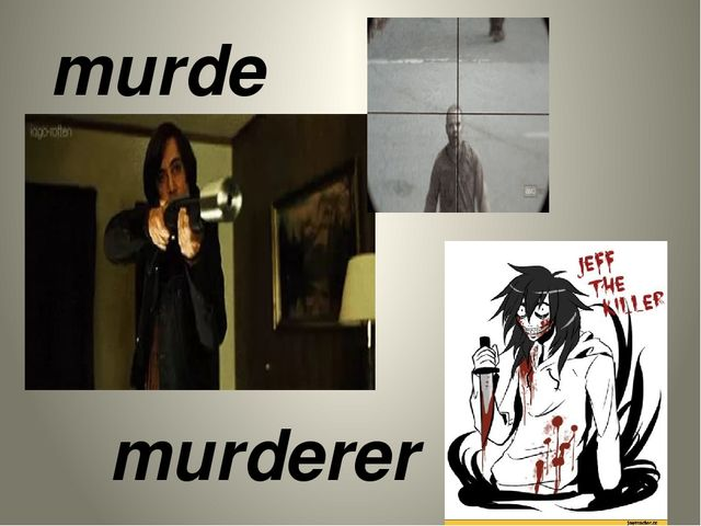 murder murderer