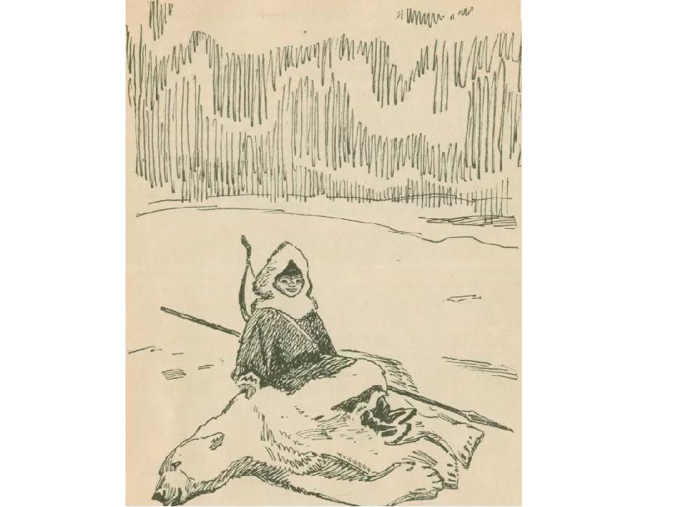 иллюстрации к сказанию о кише джека лондона дом, котором будет