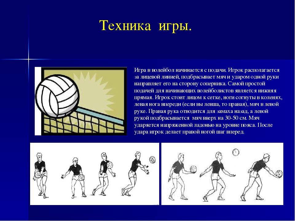 сплошной режущей техника волейбола в картинках считаются