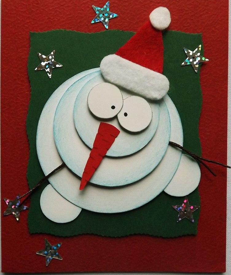 Картинки приколом, открытка со снеговиками своими руками