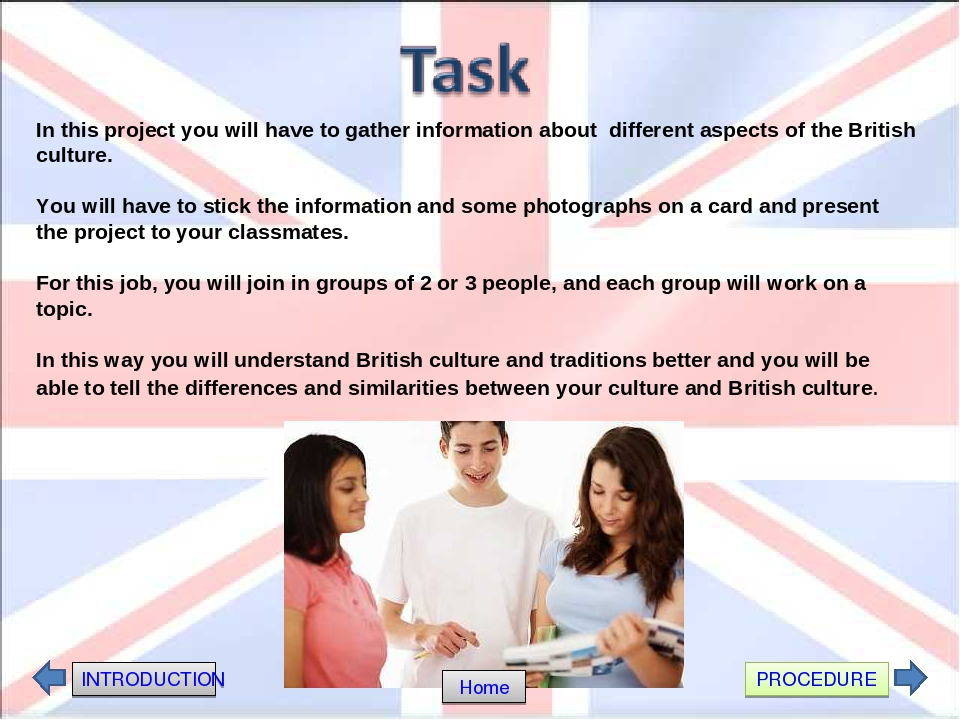 aspects of british culture Global studies 10 » the seven elements of culture the seven elements of culture the seven elements of culture  social organization creates social structure by.