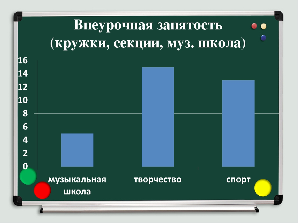 Внеурочная занятость (кружки, секции, муз. школа)