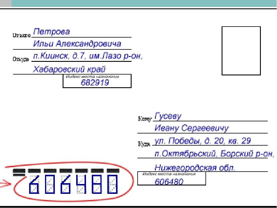 Открытка адрес россия, картинки