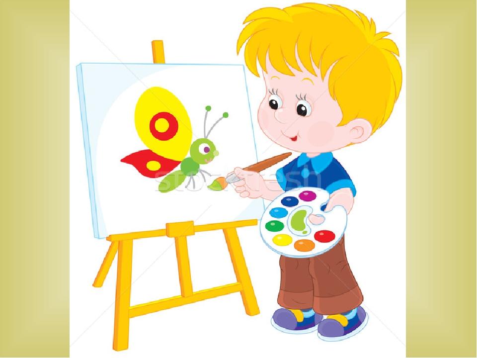 Картинка как рисуют и лепят