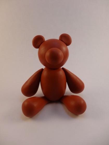 Картинка лепка медвежонок