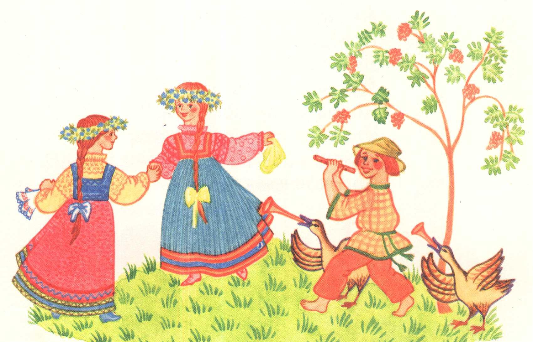 Народное творчество в картинках для детей 4-5 лет для садика