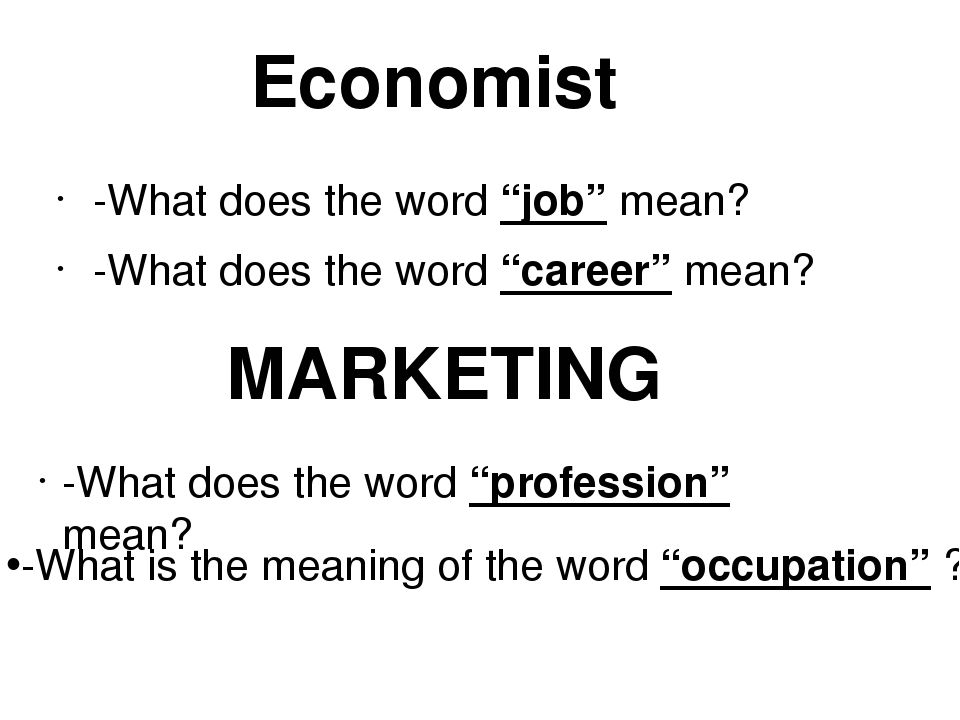 what does marketing mean to me