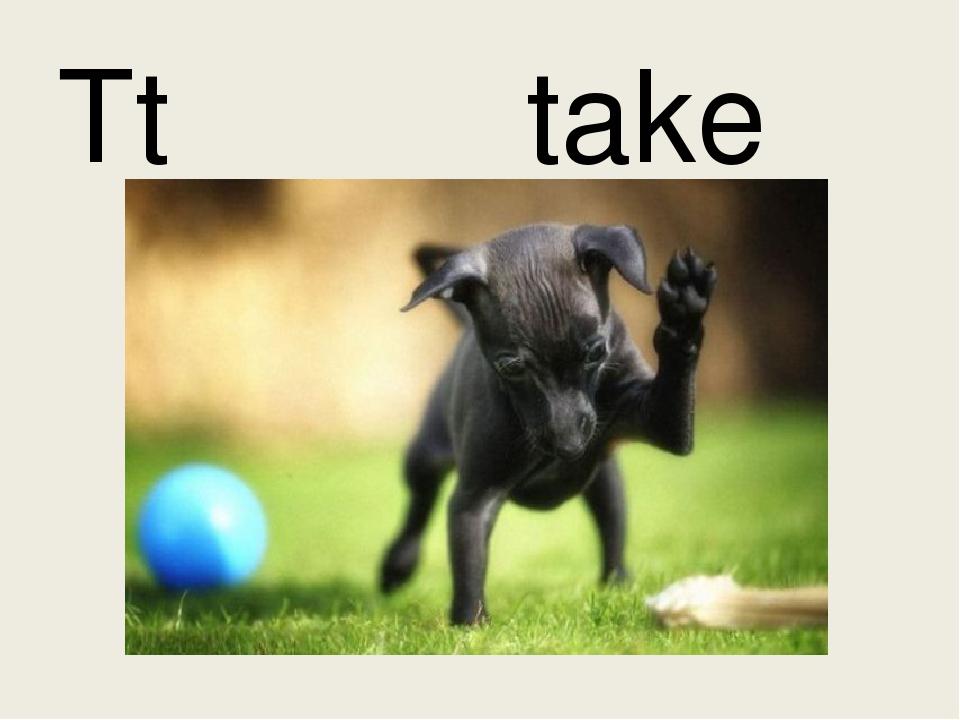 Tt take