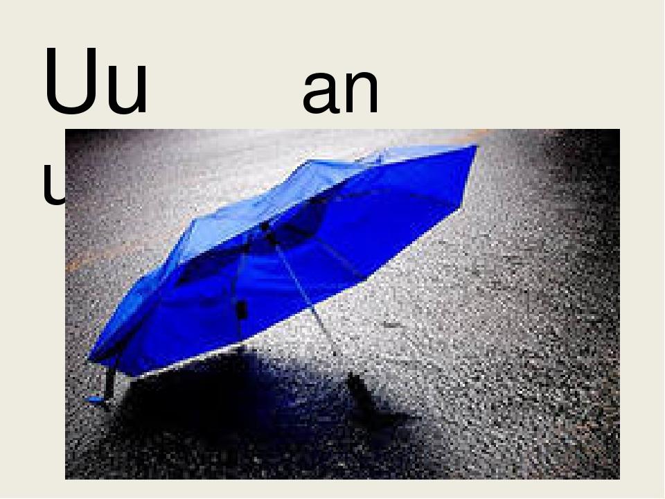 Uu an umbrella