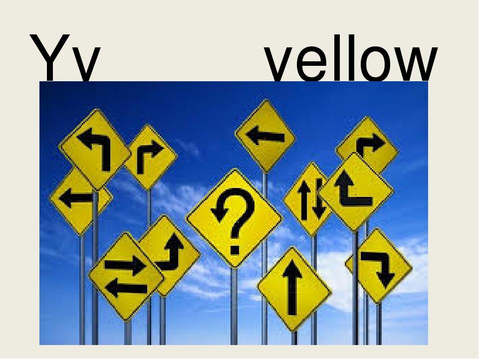 Yy yellow