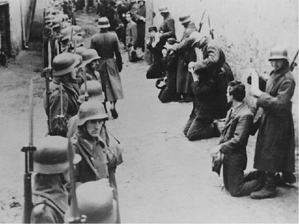 Жители Фашистской Германии глазами Советских солдат