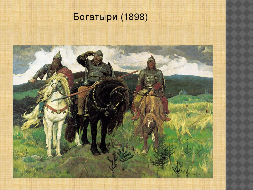 Богатыри(1898)