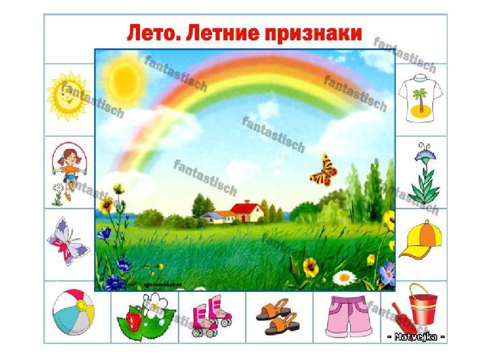 Признаки лета картинки для детей на прозрачном фоне